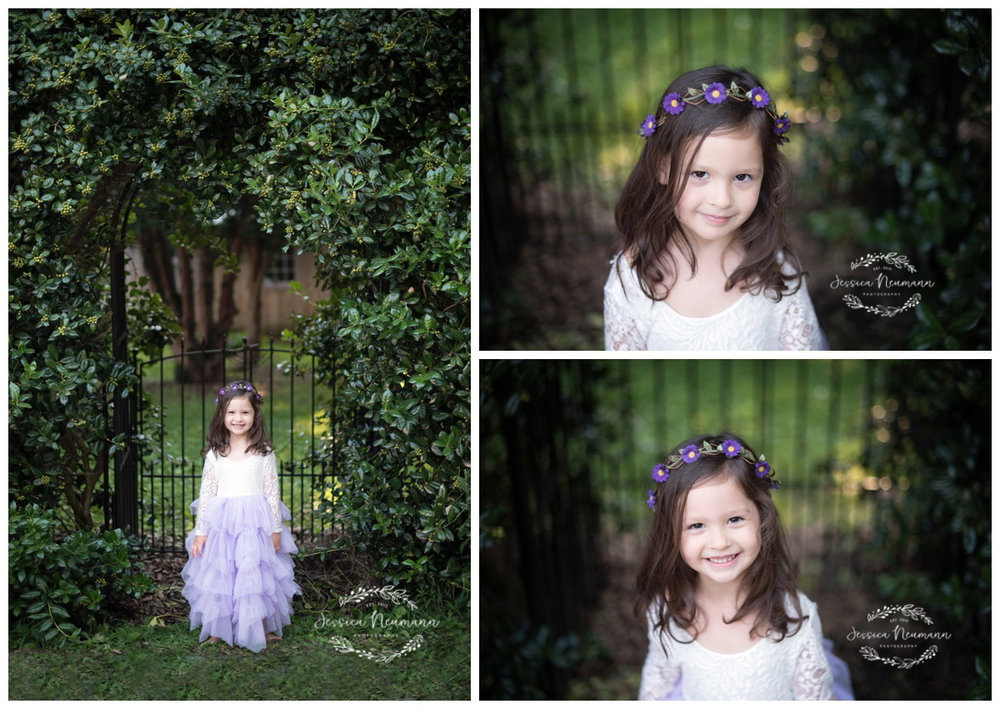 secret garden themed photo shoot