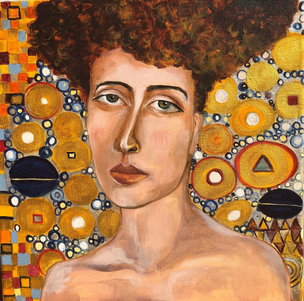 Gustav Klimt Inspired