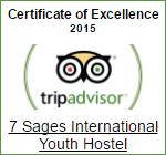 Tripadvisor Certificate of Excellence 2015 -