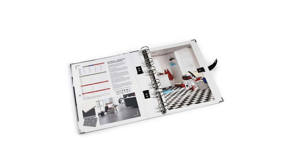 Tarkett våtrum – provpärm för golv & vägg