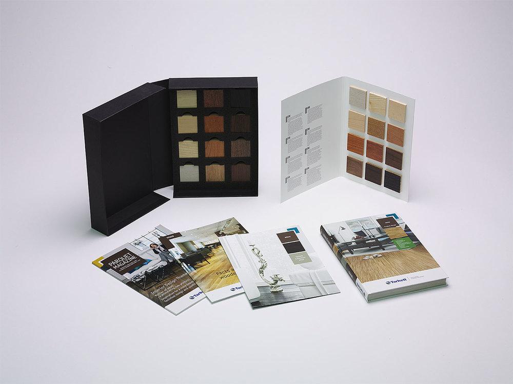 Tarkett trägolvssortimnet för arkitekter i Box.