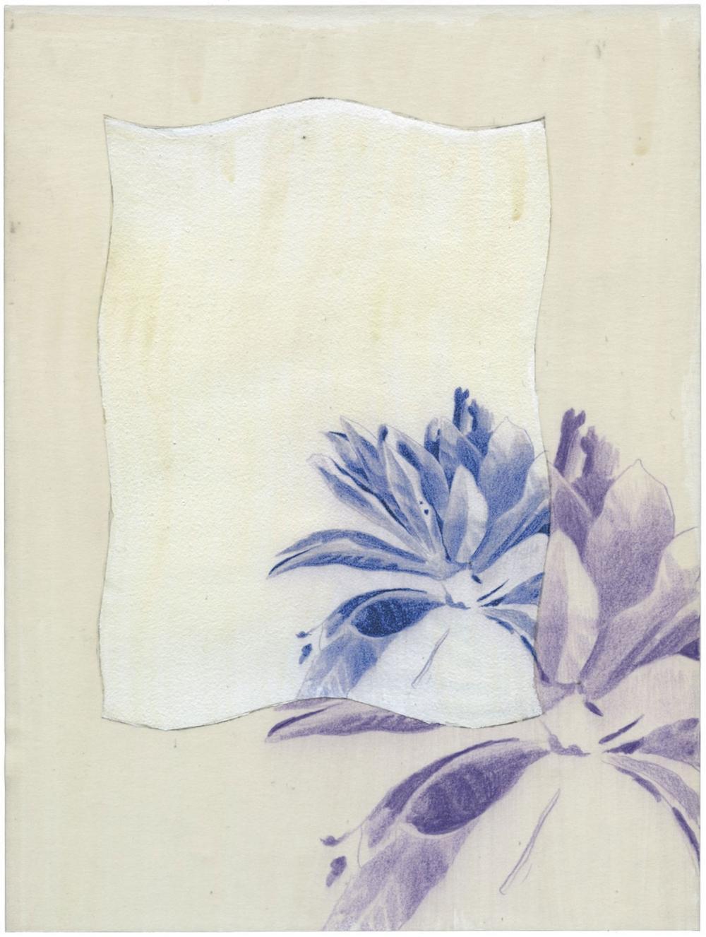 Jonah Gebka, o.T., Buntstift, Acrylharz, Acryl und Tintenstrahldruck auf Papier, 29 x 21 cm, 2017.jpeg