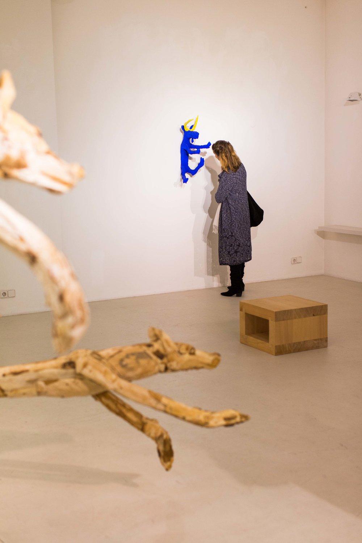 Ausstellungsansicht: Veikko Hirvimäki - Skulptur,2017