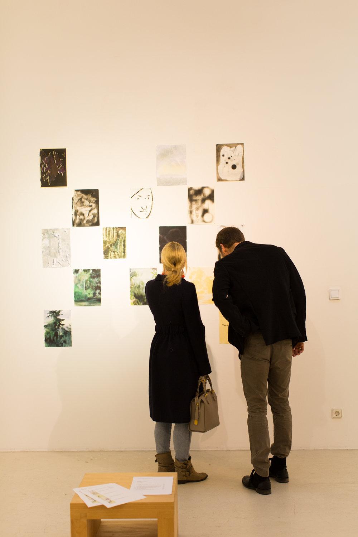 Ausstellungsansicht: Against Interpretation mit Arbeiten von Jonah Gebka, 2018