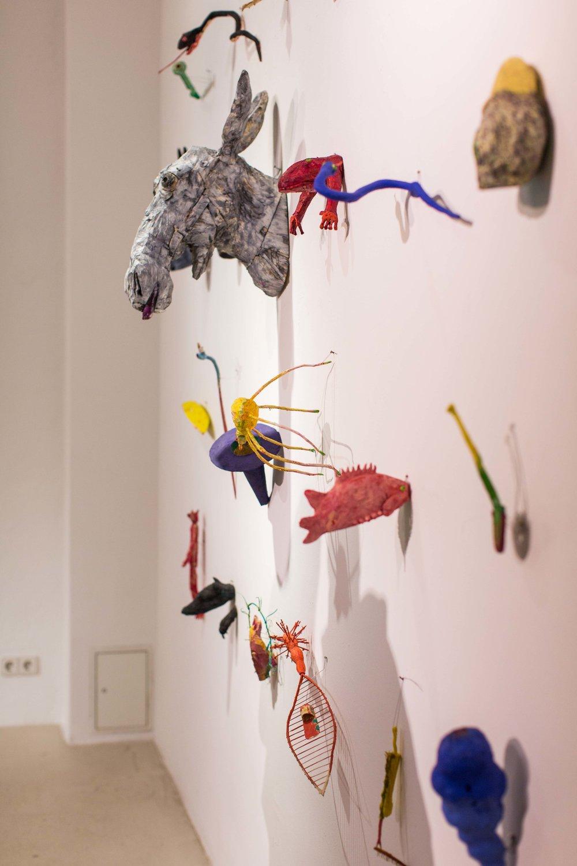 Ausstellungsansicht: Veikko Hirvimäki- Skulptur, 2016  Fotos: Alexa von Arnim