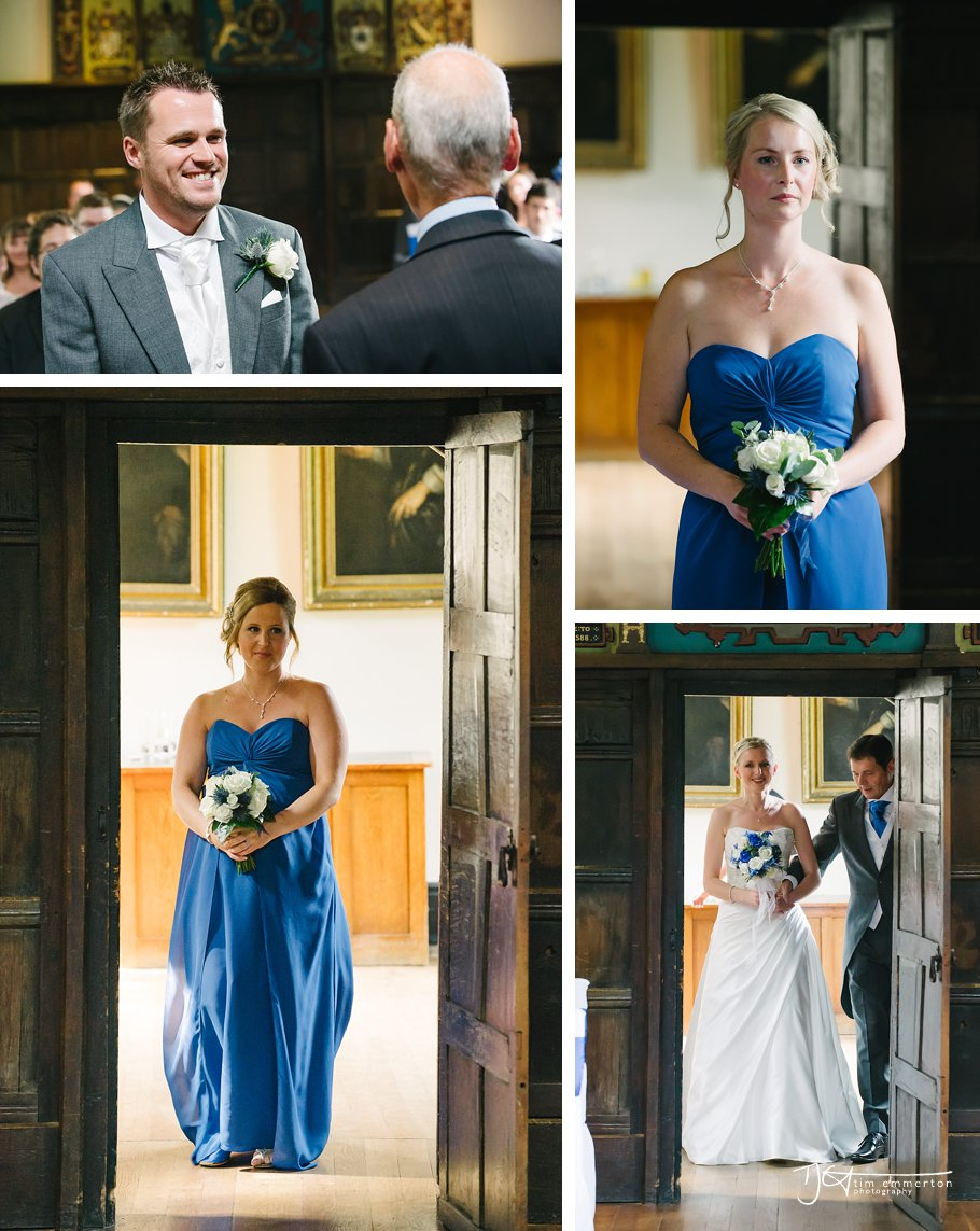 Samlesbury Hall Wedding - Kim & Carl-034