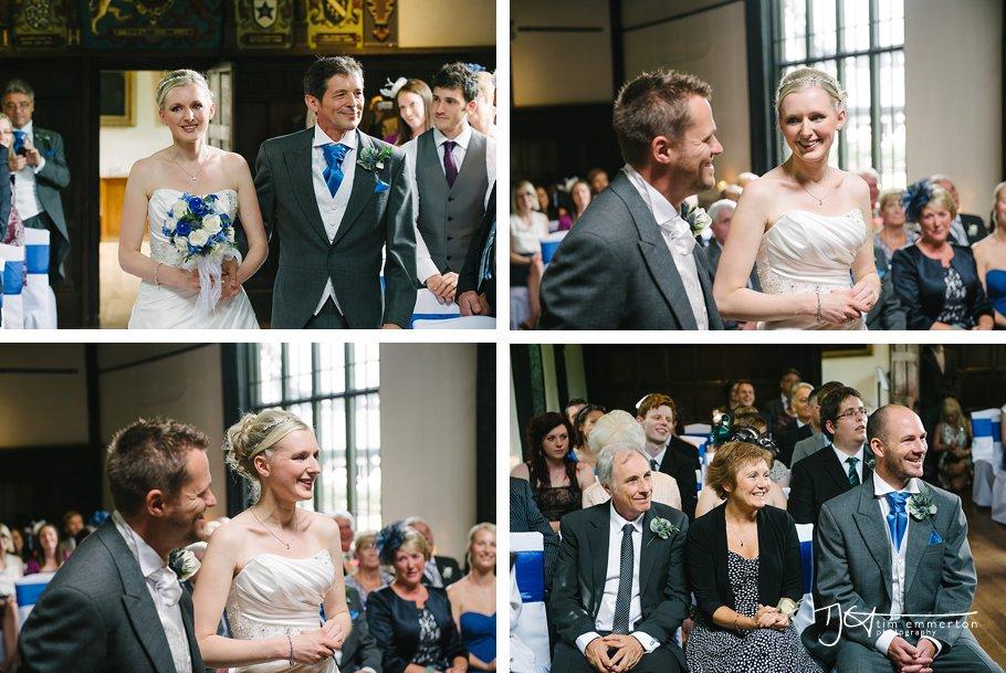 Samlesbury Hall Wedding - Kim & Carl-038