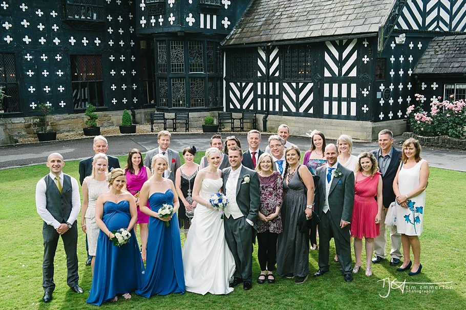Samlesbury Hall Wedding - Kim & Carl-120