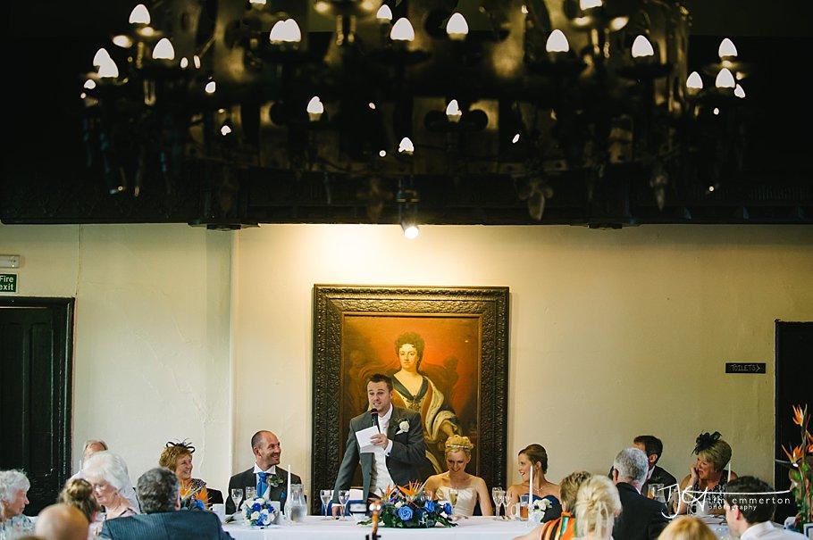 Samlesbury Hall Wedding - Kim & Carl-153