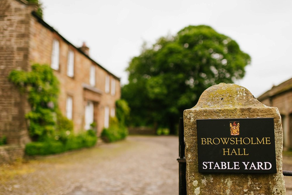 The Stable Yard at Browsholme Hall