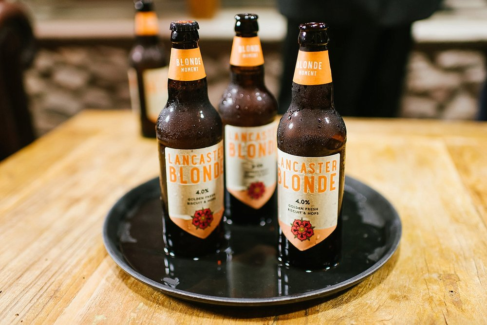 lancaster blonde beer bottles