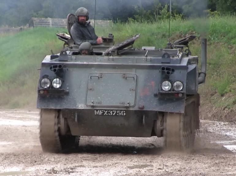 Tank Driving Eshott