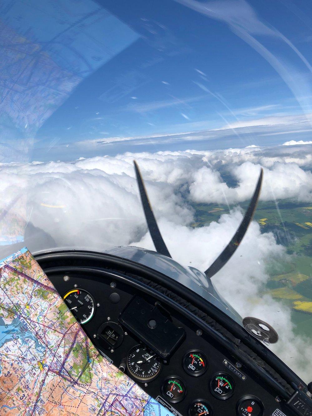 Flying Northumberland