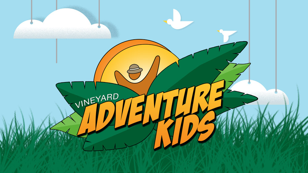 Adventure Kids - Be a part of teaching children about God and the Bible on their level, and giving them a foundation for a great life. Serve in birth-teens, along with special needs ministry.