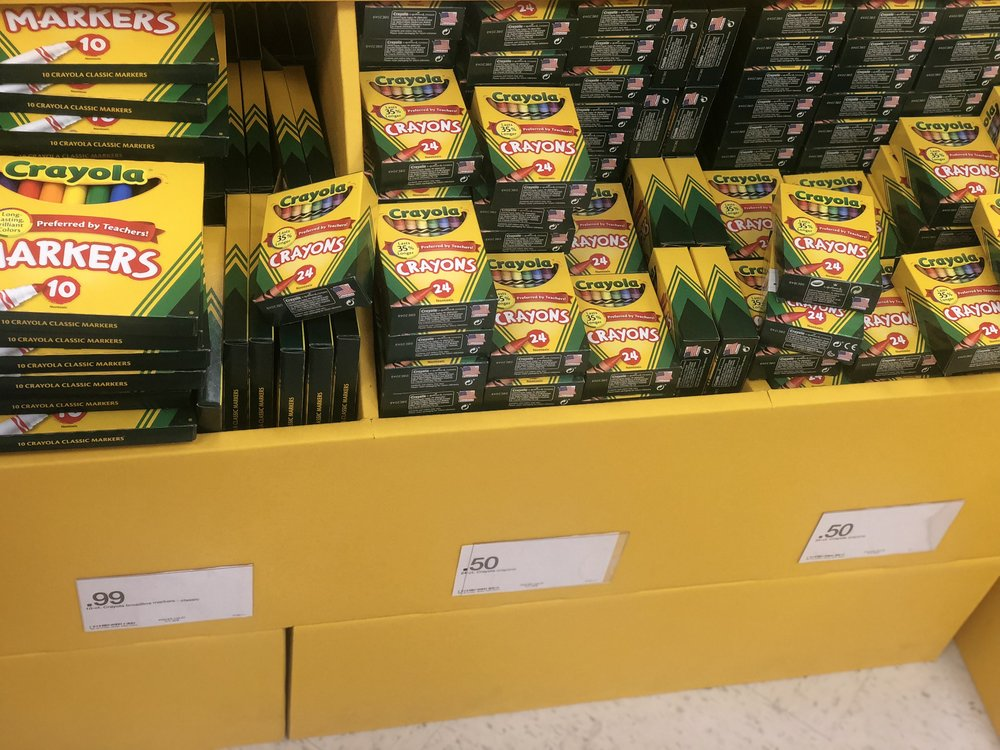 Target - Crayola 24 CT Crayons $0.50 each
