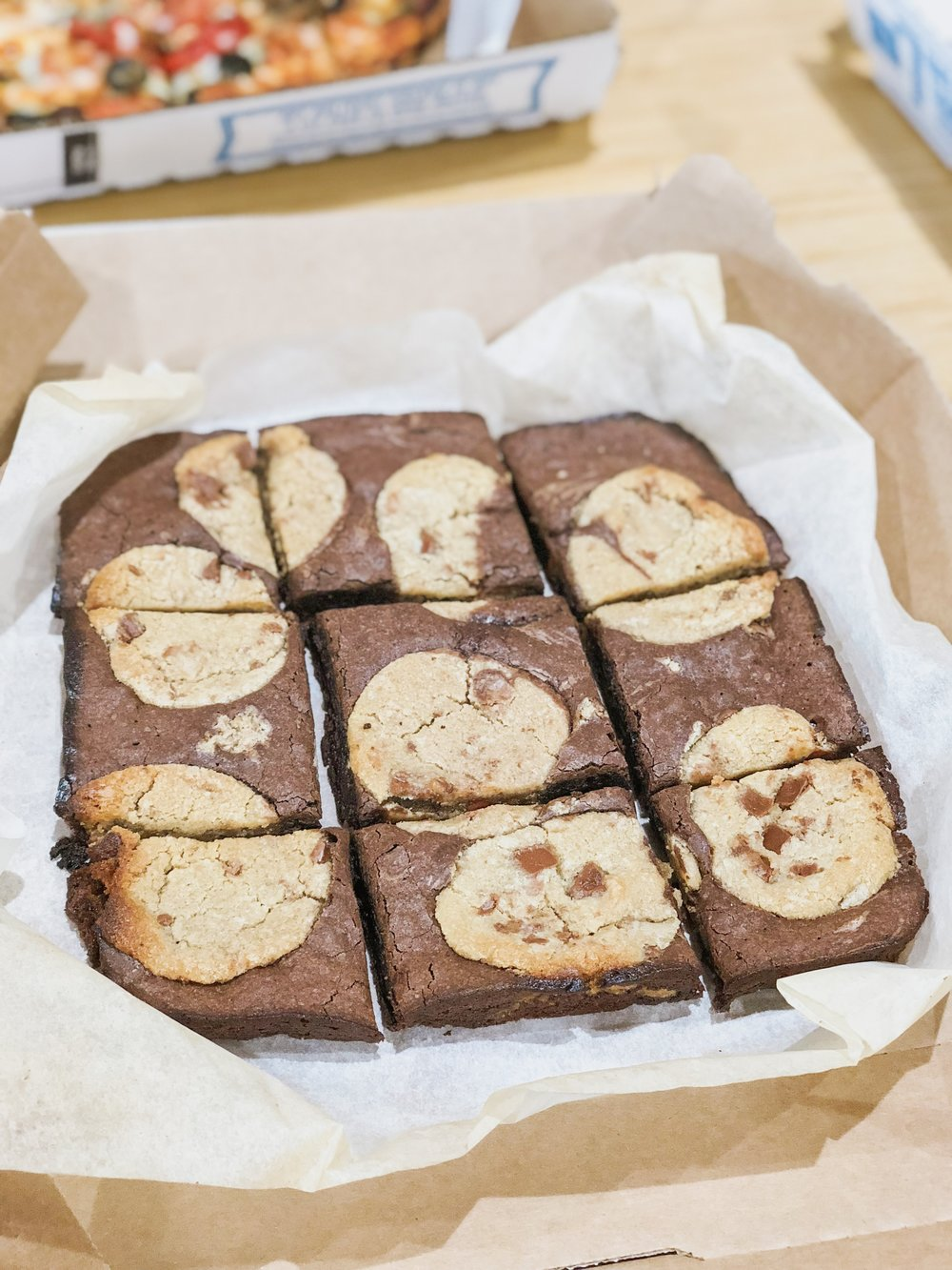 Domino's Marbled Cookie Brownie