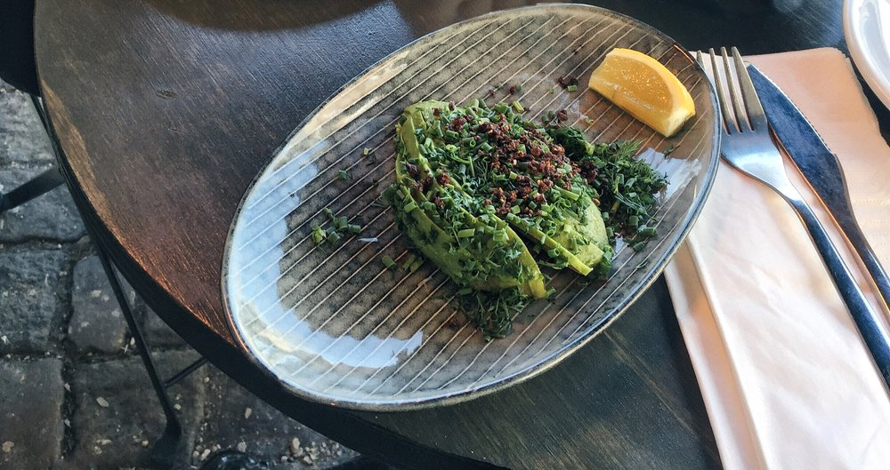 More avo than toast at Parterre, Copenhagen