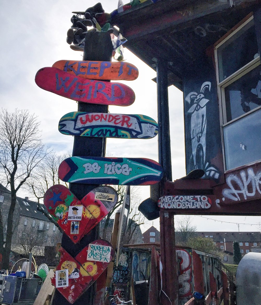 Freetown of Christiania, Copenhagen