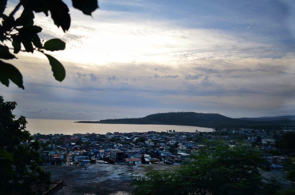 Baracoa, Cuba Sunrise at Villa Paradiso