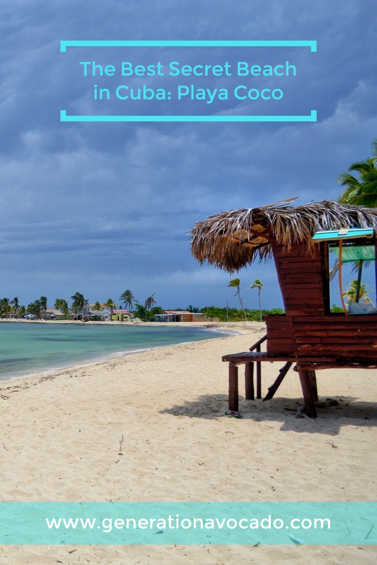 How to Find the best secret beach in Cuba: Playa Coco