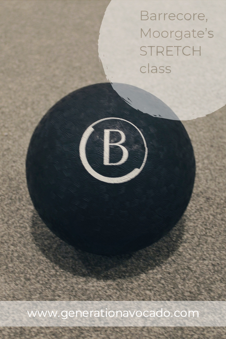Review: Barrecorre, Moorgate's STRETCH class