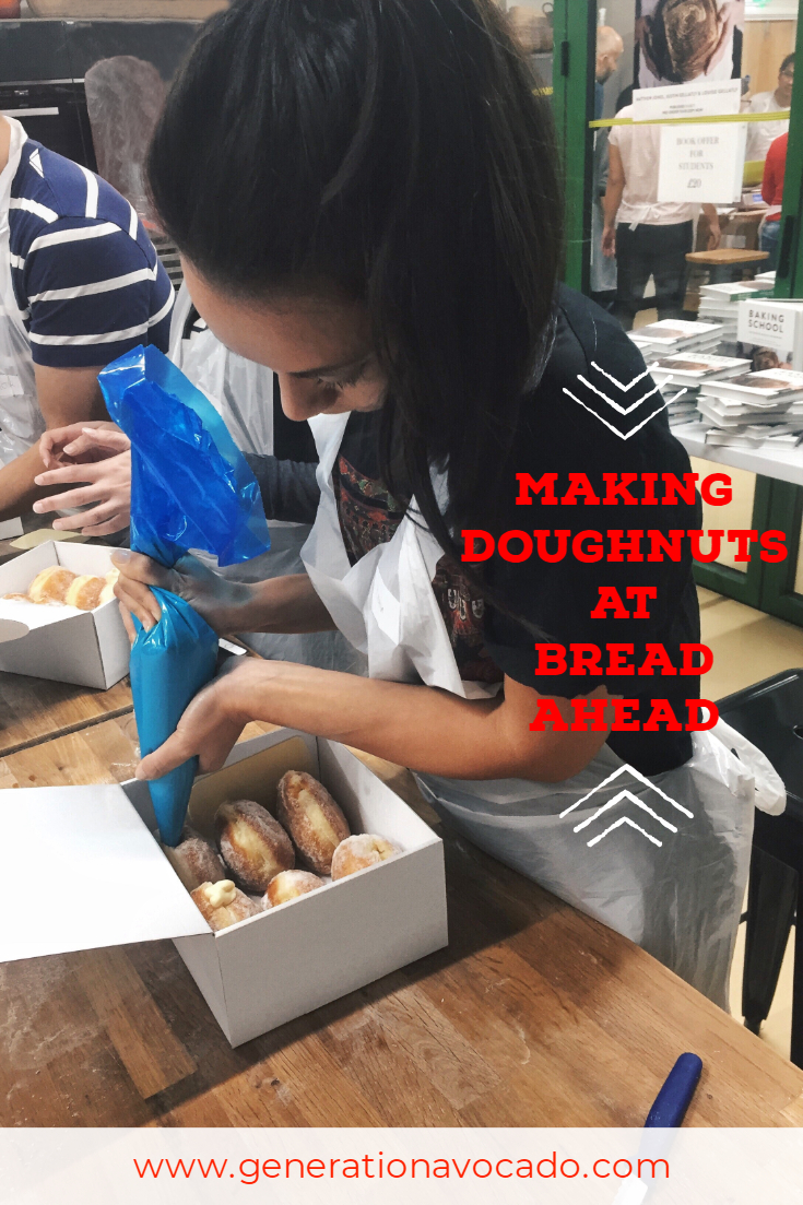 Pillows of Joy- Bread Ahead's Doughnut Making Course