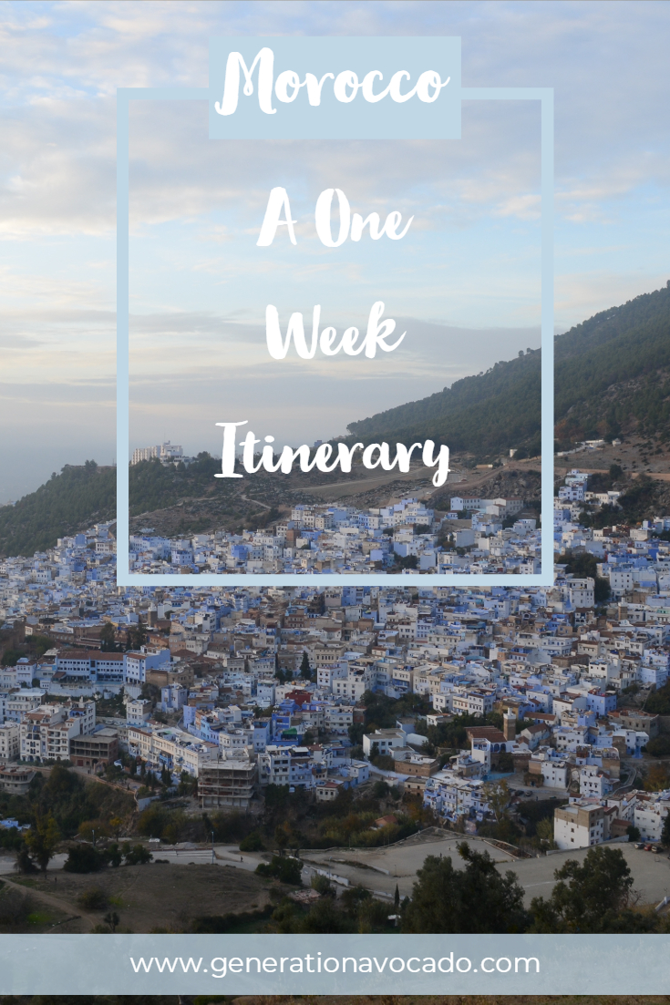 A One Week Guide and Itinerary for Morocco