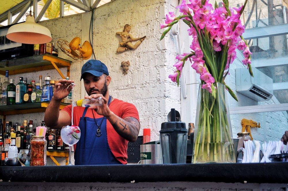 El del Frente Restaurant, Havana, Cuba