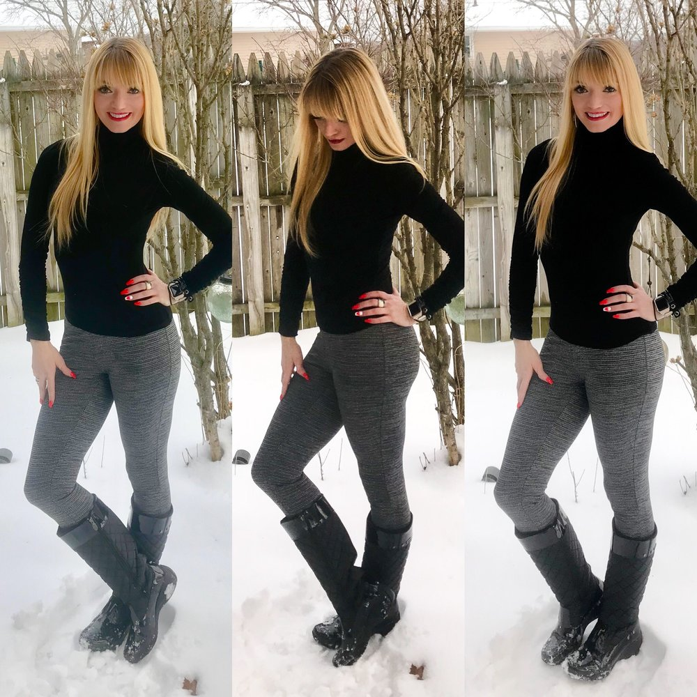 Khombu is an official sponsor of the US Ski Team, and I am so glad I have their winter boots! I  know so many bloggers are already looking to spring, but we are still stuck in the depths of winter here in CLE, so I'm still thinking winter. :)