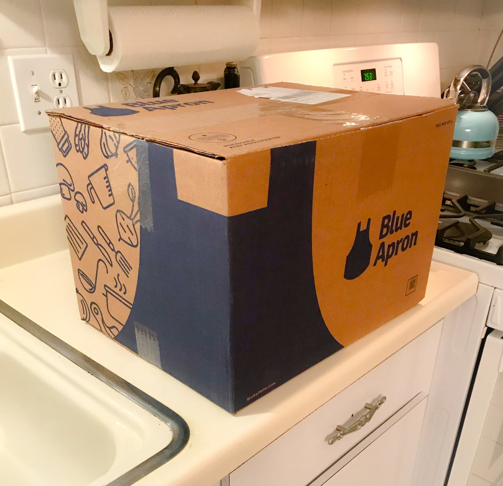 Blue Apron Delivery Box