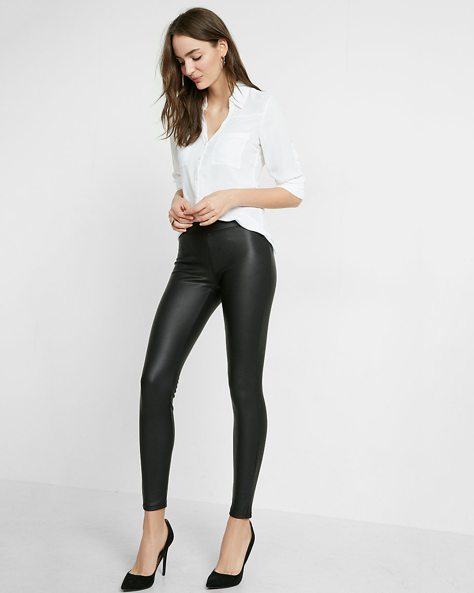 Faux leather leggings.  Definitely not as cheap as what I  got but not bad!