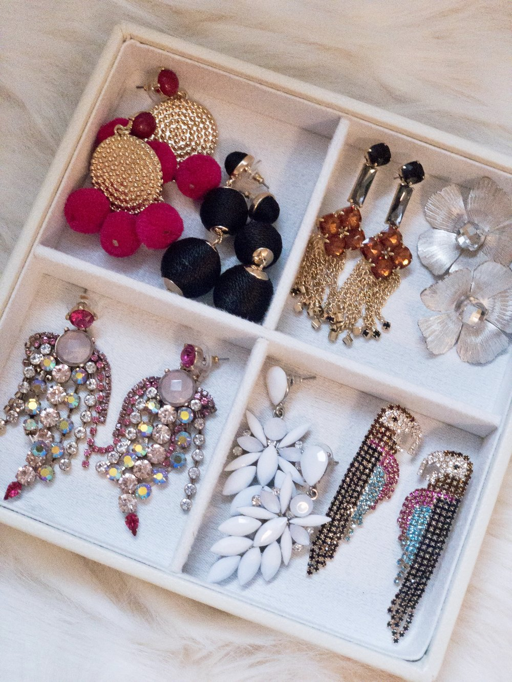 Just a few of my favorite things--earrings for spring!