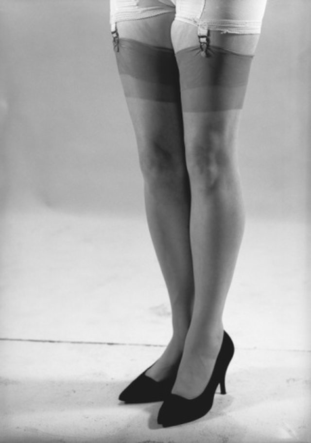 After the War, women could not wait to go back to wearing pantyhose