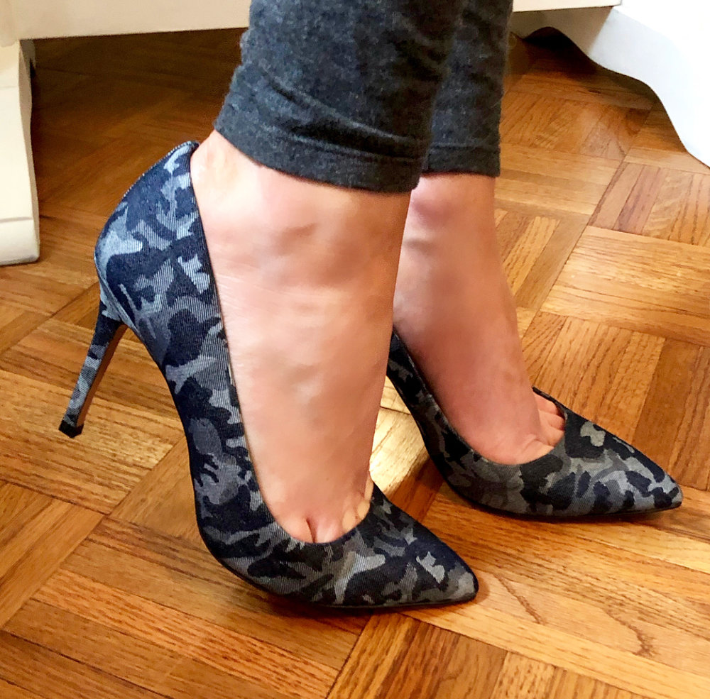 I really like the G.I.L.I. line from QVC. My mom introduced me to the line this Christmas. I was glad I finally got to break out these heels for spring! Similar options from the same line linked uo below!