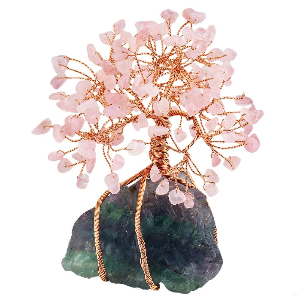 Beautiful Rose Quartz Tree