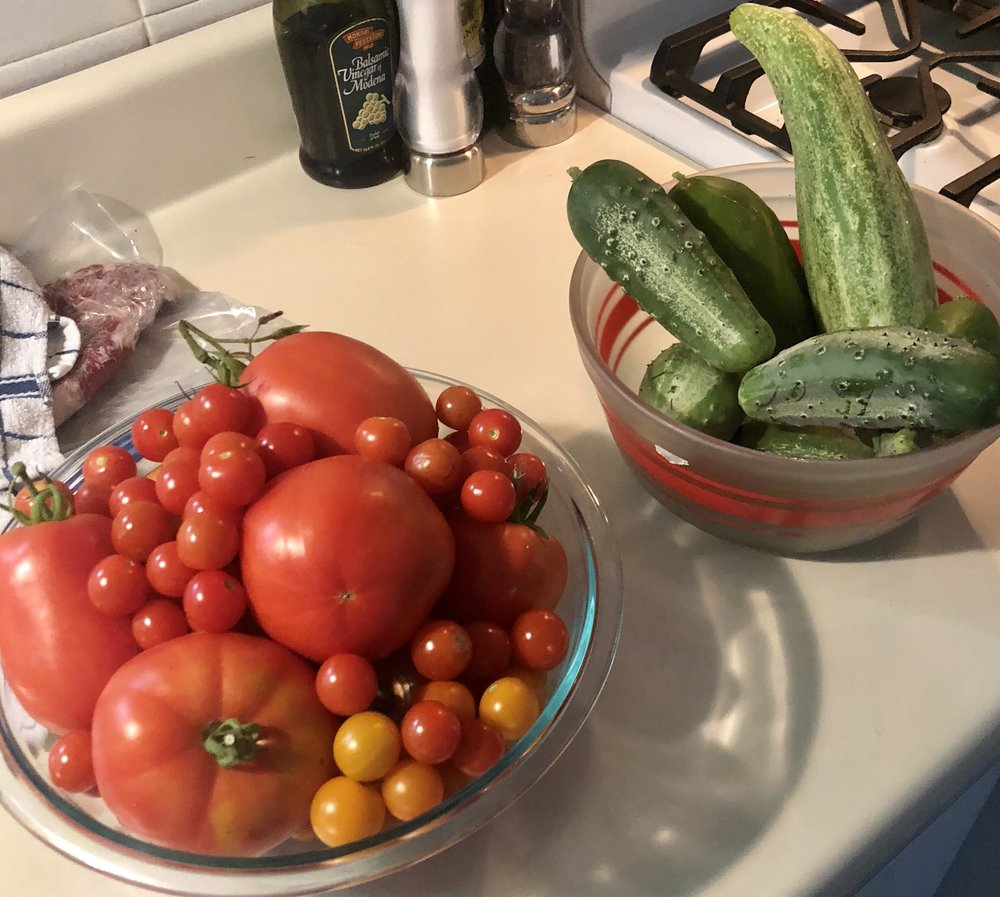 A daily August harvest