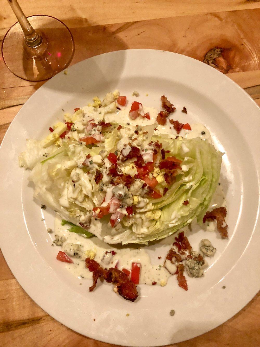 Wedge Salad--Soooooo good!