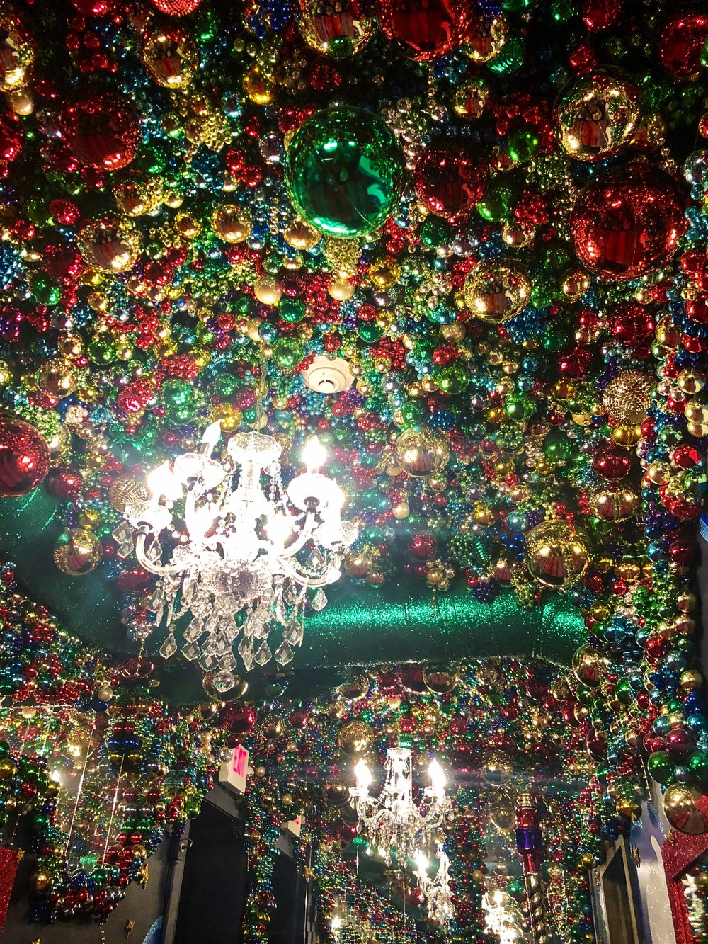 Thousands of ornaments!