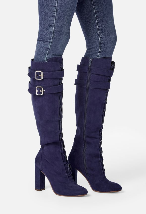 Merri Lace-Up Tall Boot