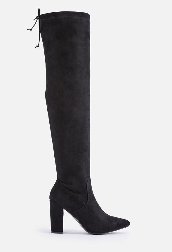 Mariam Heeled Over the Knee Boot