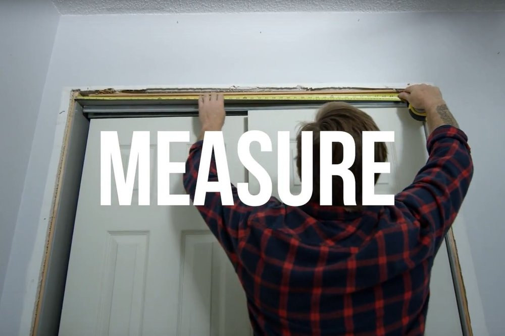 STEP 2 - MEASURE || Measure twice and cut once. It is important to get the measurements correct so that you end up with a tight install.