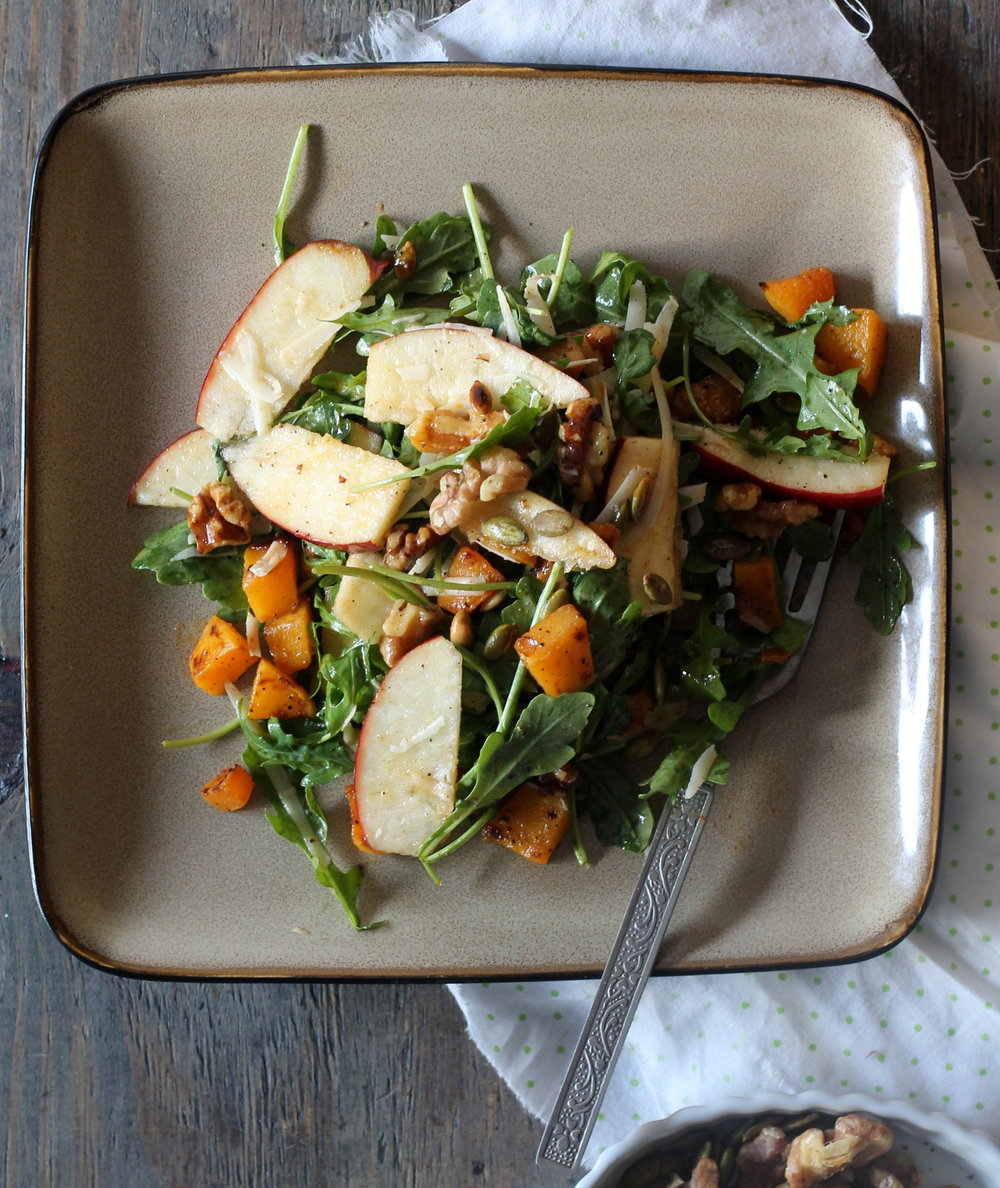 Butternut Squash, Apples, and Walnuts2