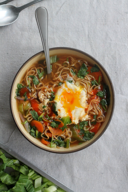 'healthifying' instant noodles — food pleasure  health