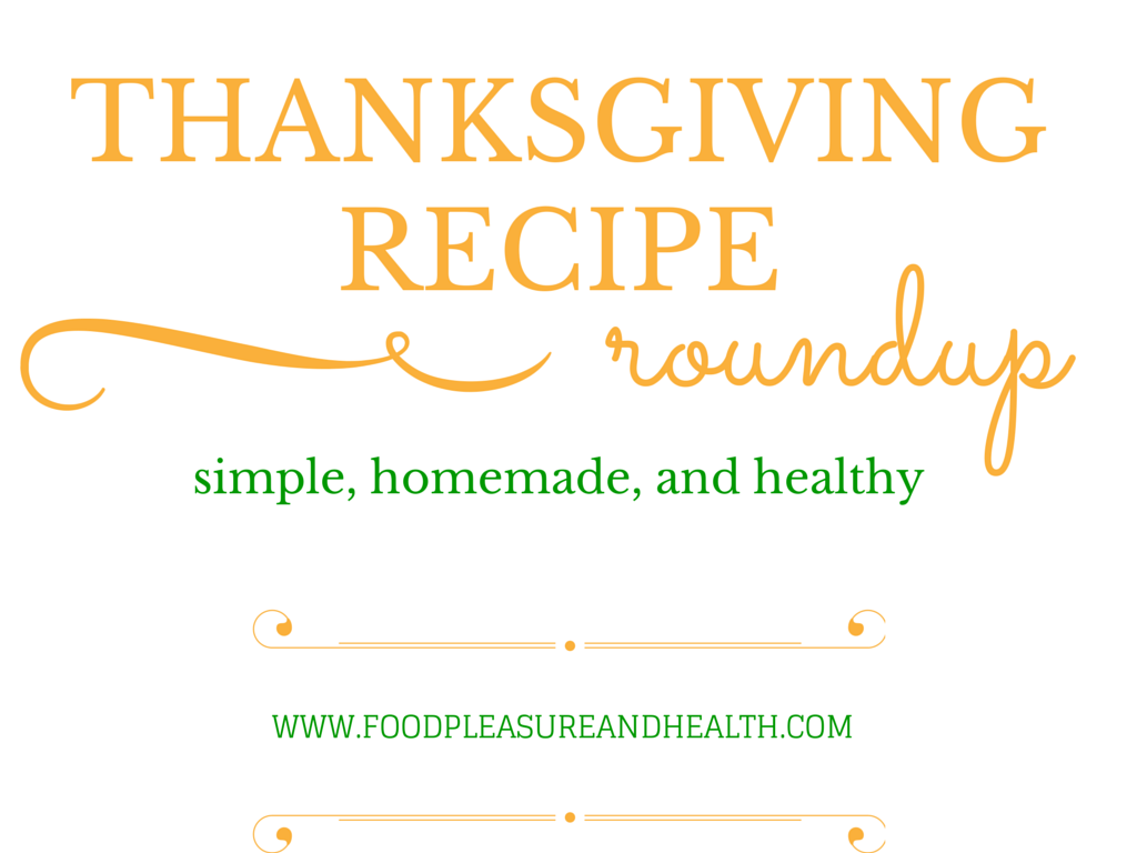 Thanksgiving Recipe Round Up