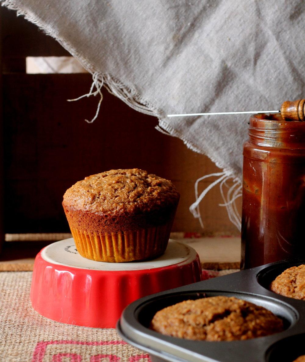 applebutter muffins