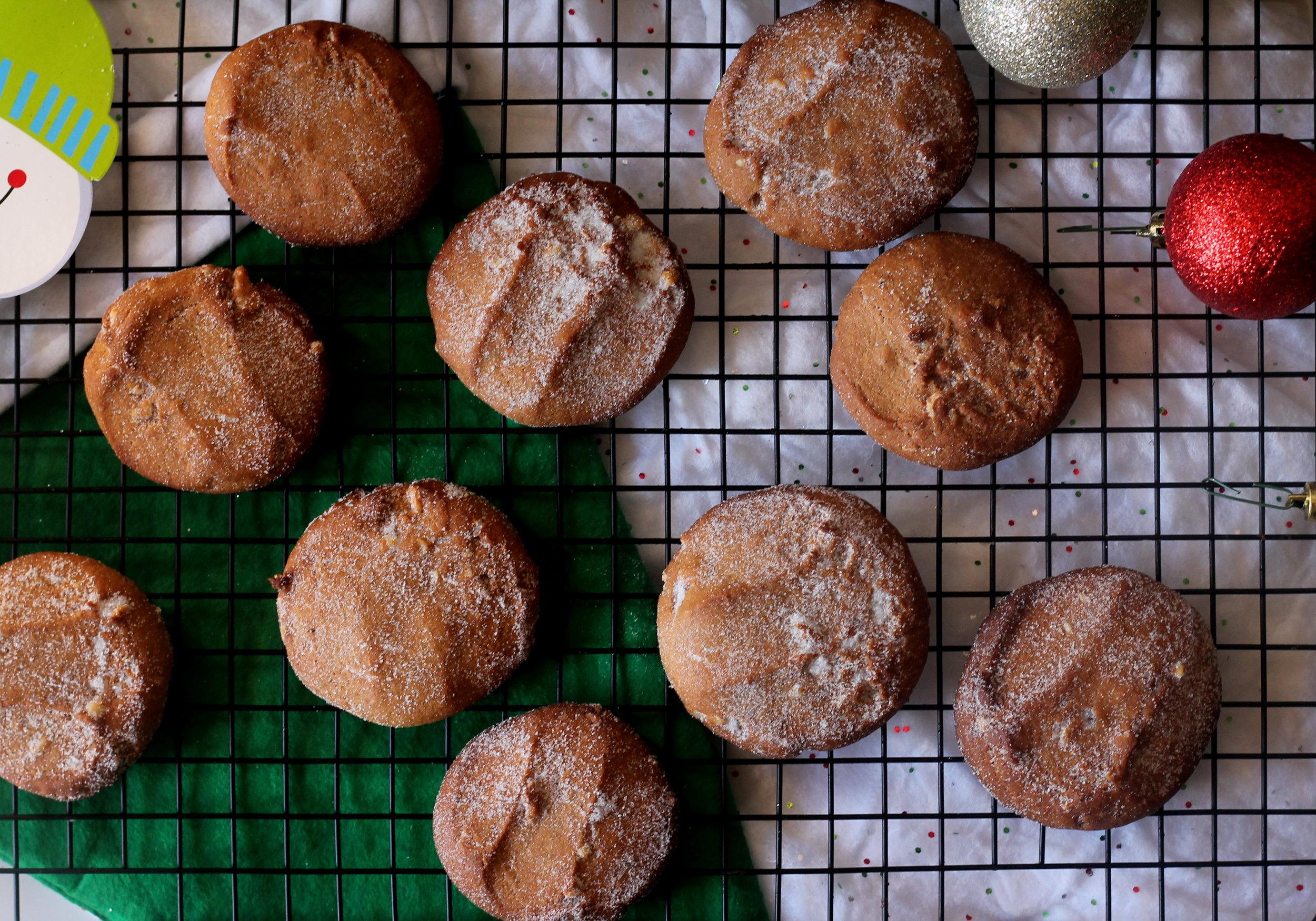brownbuttercardamom cookies