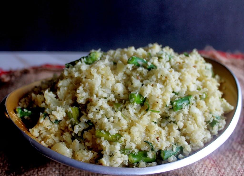 asparagus-lemon-cauliflower-rice