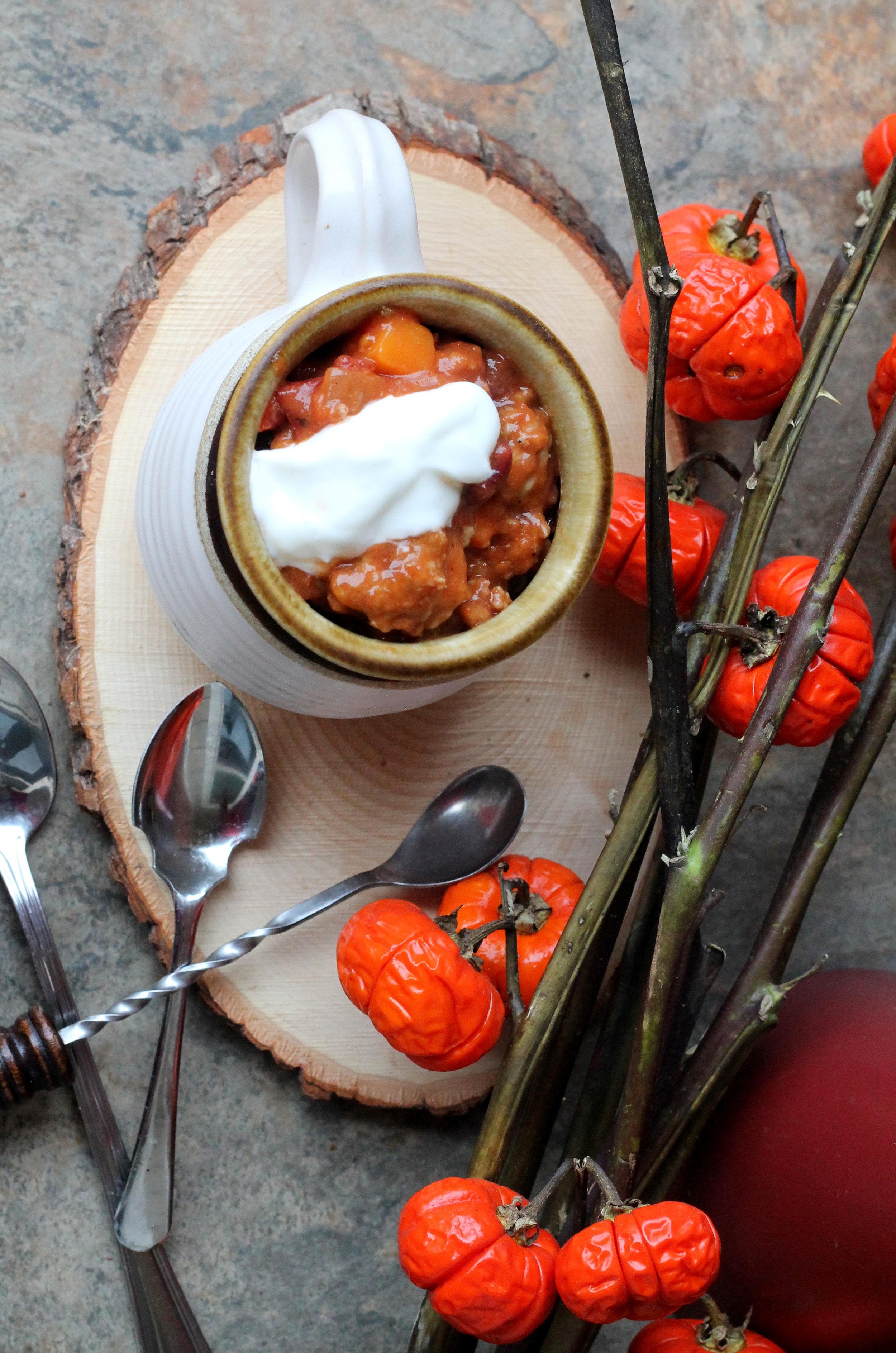 Chipotle Turkey and Sweet Potato Chili2