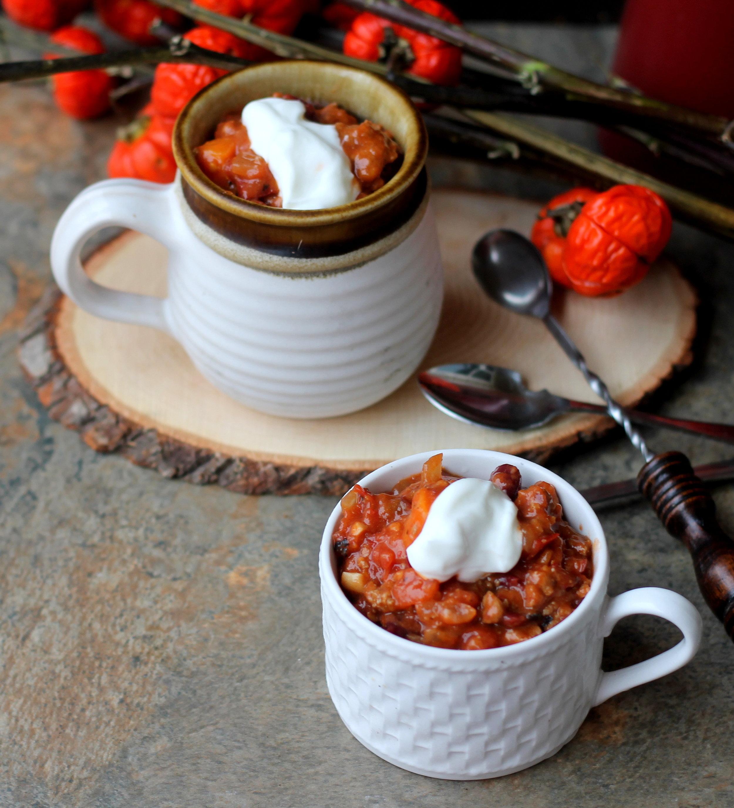 chipotle turkey and sweet potato chili