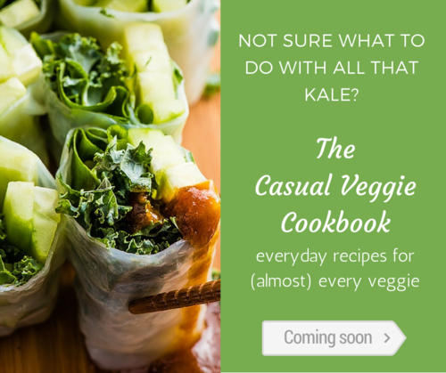 casual veggie cookbook